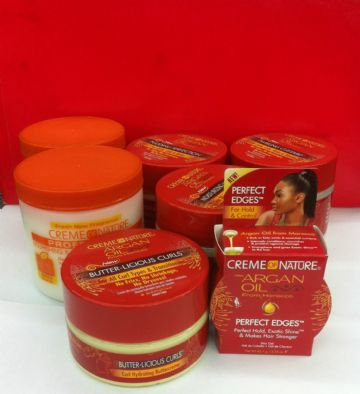 CREME OF NATURE  ARGAN OIL HAIR TREATMENT PRODUCT